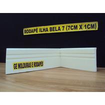Rodapé Eva Flexível E Autoadesivo Ilha Bela 7cm X 1,00cm