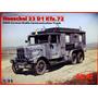 Henschel 33 D1 Kfz72 - Ww2 German Radio Truck Frete Grátis