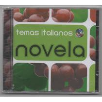 Cd Temas Italianos De Novela - Cd Novo Lacrado - Zizi Possi