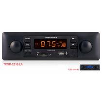 Toca Radio - Usb - Sd Estilo Retrô Powerpack 2316 - Fm - Mp3
