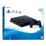 Playstation 4 Slim 500gb Ps4 Original Hdr Bivolt + Jogo