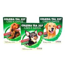 Coleira Tea 327 Cães E Gatos Pulgas E Carrapatos