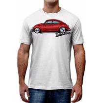 Camiseta Fusca Carro Antigo Volkswagen Cast Design Asphalt
