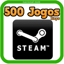 500 Keys Jogos Steam Pc Bundle Pack Steam Trade Cards Promo