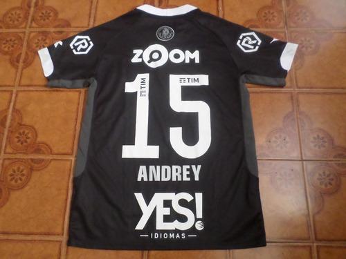 Camisa Vasco Preta Jogo 15 Andrey Tamanho P 7a5e0aaa03f52