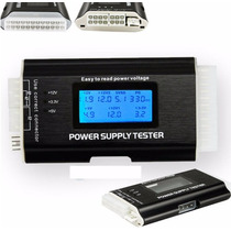 Power Supply Tester Testador Digital Fonte 20 E 24 Pinos