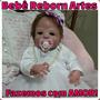 Bebê Reborn Todo De Silicone + Enxoval Luxo- Pronta Entrega