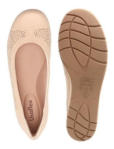 6ac9526b6 Sapato Usaflex Anabela Ab 7904. R$ 149.9
