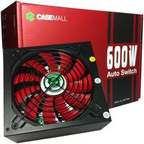 Fonte Atx 600 Watts Auto Switch Casemall All-600ttpsw