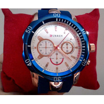 Relógio Shock Curren Original Modelo Design Invicta Reserve