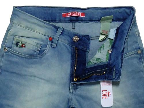 235e865daf0ff Calça Jeans Masculina Lacoste L!ve Original Slim Fit. Preço  R  189 9 Veja  MercadoLibre