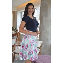 70c14f60e Femininas Saias Godê Saias Midis com os melhores preços do Brasil ...