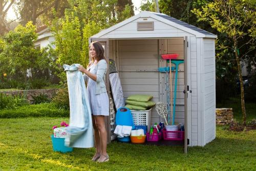 Casa para dep sito dispensa armazenar rea externa for Depositos de plastico