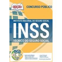 3 Apostila Técnico Do Seguro Social Inss 2016 + Brindes