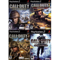 Call Of Duty 2 Big Red One Play 2 (kit 4 Jogos Ps2 Guerra