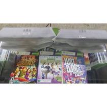 Kinect P/ Xbox 360 + Just Dance 2016 + 02 Jogos Originais