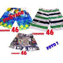 Shorts,bermudas Masculinas Tactel Surf Frete Gratis