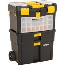 Caixa Plástica Organizadora Porta Ferramentas Vonder C/ Roda