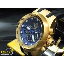 Invicta Original S1 Aviator Specialty 1510 Banh Ouro 18k