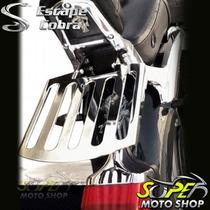 Bagageiro Suporte Modelo Cobra Cromado Virago 250 - Yamaha