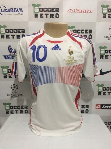 Camisa França Copa Final Copa Do Mundo 2006 Zidane 10. R  299 3469250b653ff