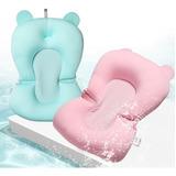 Almofada De Banho Para Bebê Azul Baby + Envio Rápido