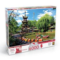 Novo Quebra Cabeça Puzzle Grow 6000 Peças Tivoli Gardens