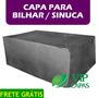 Capa Sinuca / Bilhar Premium Corino Resistente Impermeável