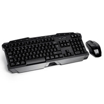 Teclado E Mouse Sem Fio 2.4 Ghz Multimidia Gamer Usb - Tc166