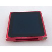 Ipod Nano 6 Geração 16gb Vermelho - Usado