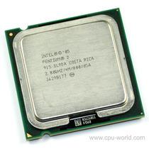 Pentium D915 2.8ghz Skt 775 Fsb 800 Mhz Cache 4mb Sem Cooler