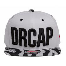 Boné New Drcap Zebra Snapback Premium 2016