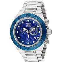 Relógio Invicta 10865 Subaqua Sport Blue Carbon Fiber