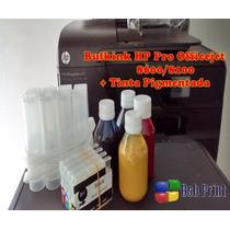 Bulk Ink Hp Pro 8600/8100 + 400 Ml Tinta Pigmentada