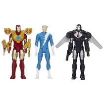 Bonecos Titan Hero Com 3 Personagens Avengers B2268 Hasbro