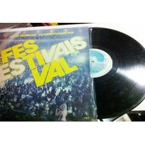 Festival Dos Festivais Mpb Lp Vinil Mt Bom