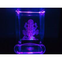 Cristal Enfeite Deusa Ganesha Ornamento Ganexa Ganesh