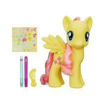 Figura My Little Pony Flutershy Com Acessórios Hasbro