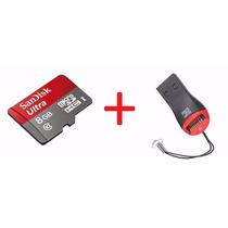 Cartão Micro Sd Ultra 8gb Classe 10 S4 S5+ Leitor Gratis