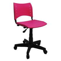Cadeira Plisma Giratória Sem Braço