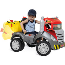 Mini Caminhao Brutus Caçamba Basculante Pedal Bandeirantes
