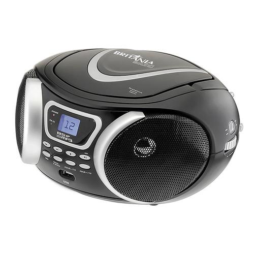 Boombox Áudio Bs9 Mp3 Usb Rádio Fm Britânia Bivolt