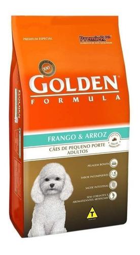 Ração Golden Formula Premium Especial Cachorro Adulto Raça Pequena Frango/arroz 3kg