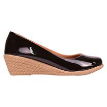 21bc54aaa9 Busca Sapato Anabela preto com os melhores preços do Brasil ...