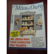 Revista Agulha De Ouro Mãos De Ouro Biscuit Craquelê N°2