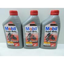 Oleo Mobil 4t Mx10w-30 Api Sl Jaso Ma 3 Litros