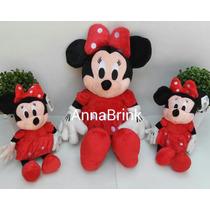 Minnie Vermelha Kit C/5 Pelucias