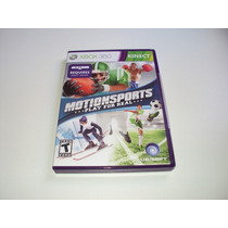 Kinect Motion Sports Play For Real Original Completo Xbox360