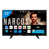 Smart Tv Led 32 Aoc Le32s5970s 2 Hdmi 1 Usb Wifi