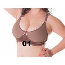 Sutian Plus Size Reforçado Sem Bojo